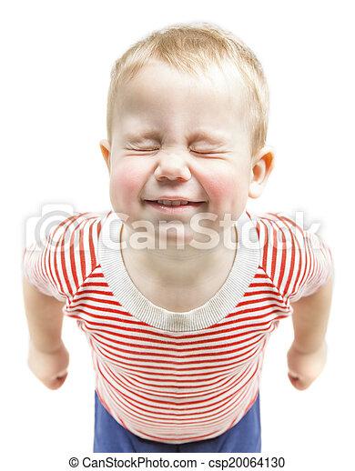 gar on troit ferm rigolote sur enfant isol voeux fond r ver b b sourire yeux. Black Bedroom Furniture Sets. Home Design Ideas