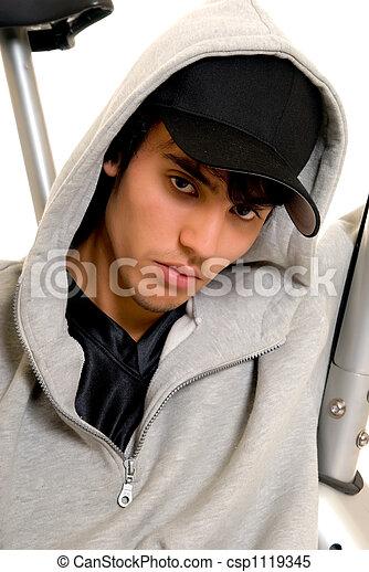 garçon, adolescent - csp1119345