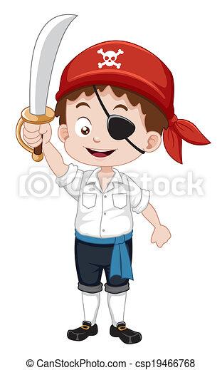 garçon, pirate - csp19466768