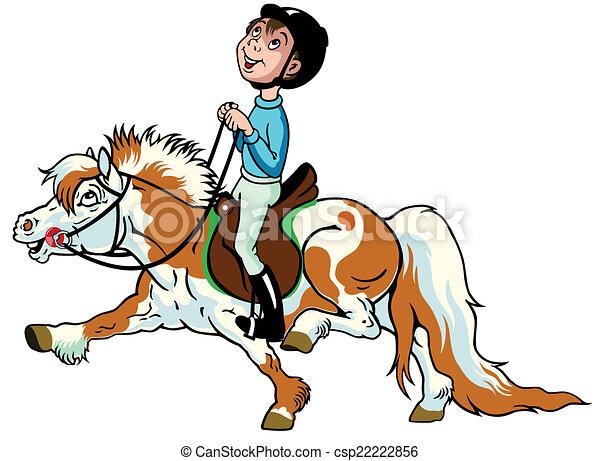 Gar on poney dessin anim gar on peu gosses poney image sport quitation dessin anim - Dessin anime avec des poneys ...