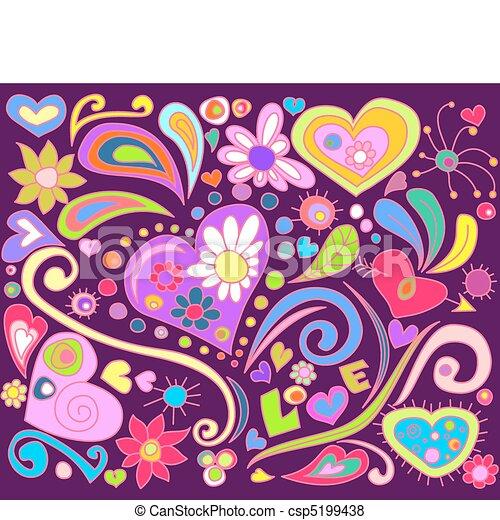 Amor garabato - csp5199438