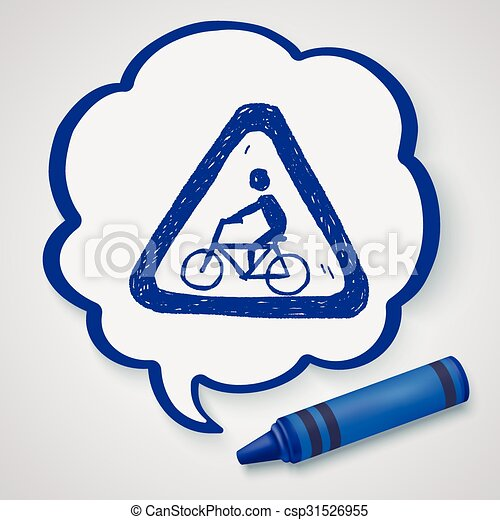 Señas de bicicleta - csp31526955