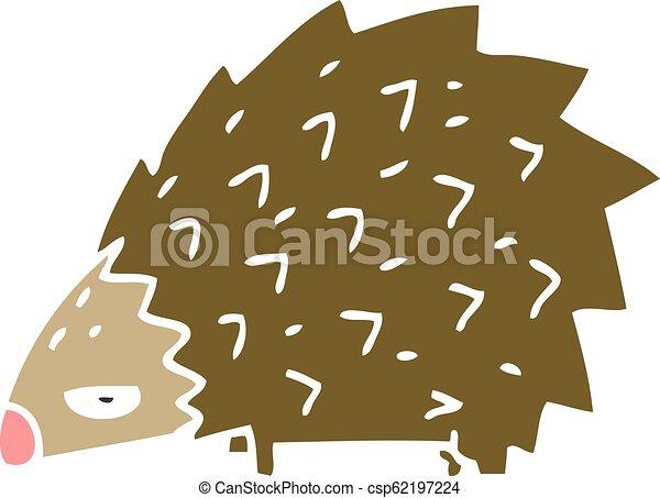Un puercoespín furioso - csp62197224