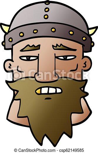 Un guerrero furioso - csp62149585