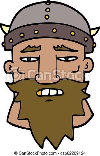 Un guerrero furioso - csp62209124