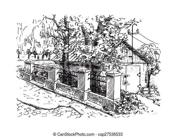 Garage Pierre Vieux Paysage Barrière