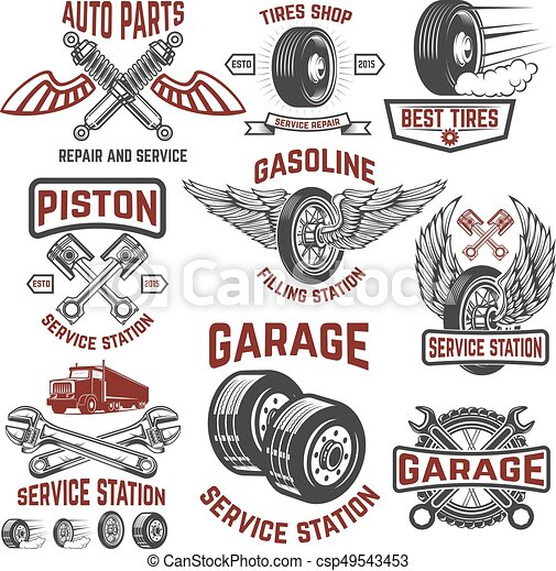 Auto parts shop logo images galleries for Garage auto discount montpellier