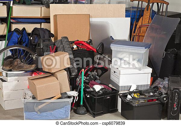 garage, stockage - csp6079839