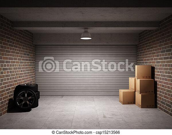 garage, tom - csp15213566