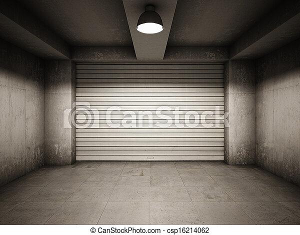 garage, tom - csp16214062