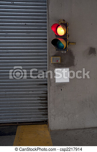 Garage Traffic Light
