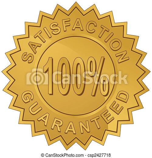 Garantiesiegel - csp2427718