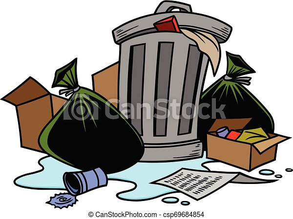 Garbage - csp69684854