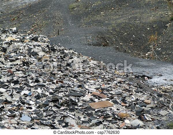 Garbage dump - csp7762630