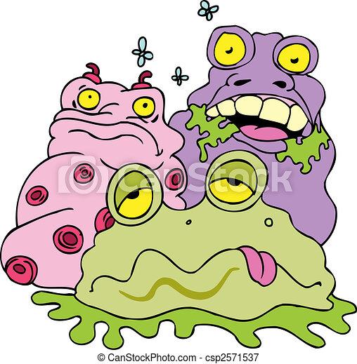 garbage monsters - csp2571537