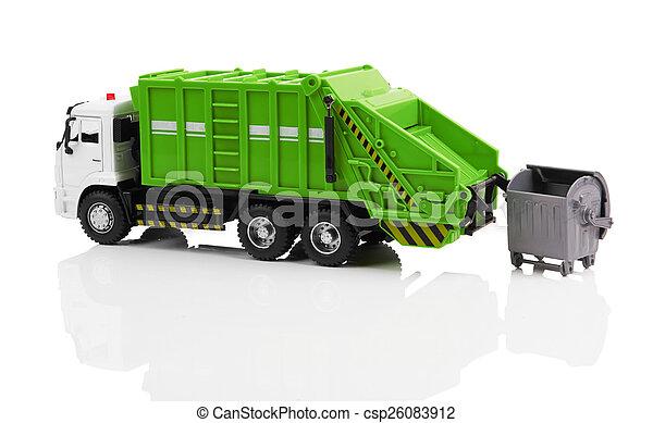 Garbage truck - csp26083912