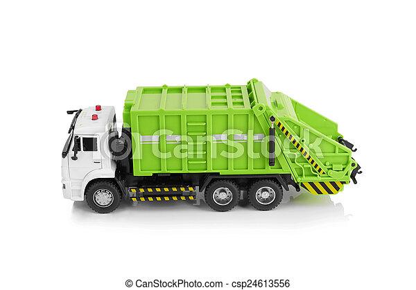 Garbage truck - csp24613556