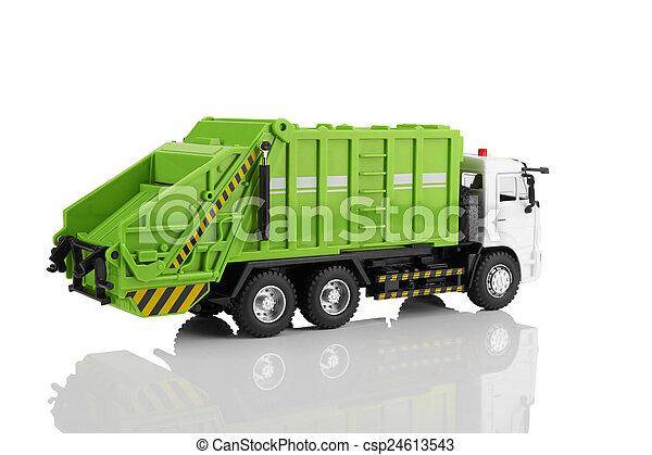 Garbage truck - csp24613543
