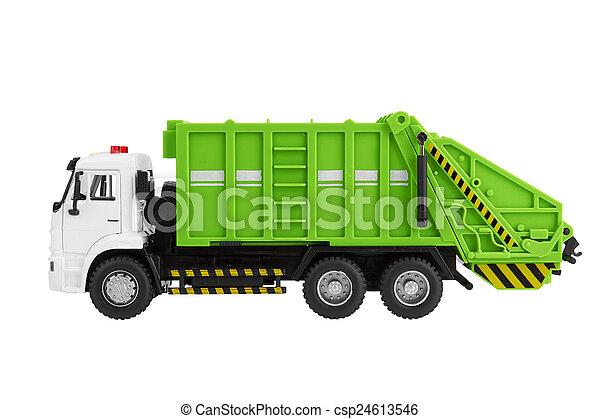 Garbage truck - csp24613546