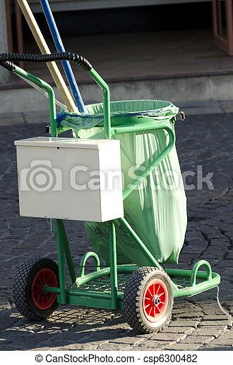 garbage truck - csp6300482