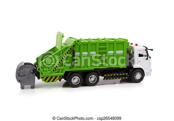 Garbage truck - csp26548099