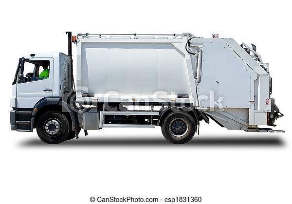 Garbage Truck - csp1831360