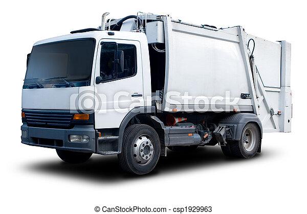 Garbage Truck - csp1929963