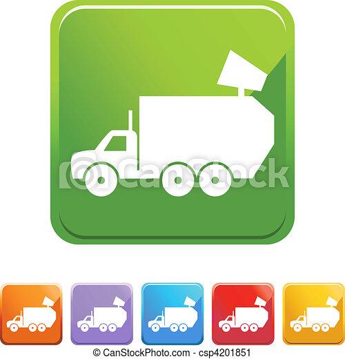 Garbage Truck - csp4201851