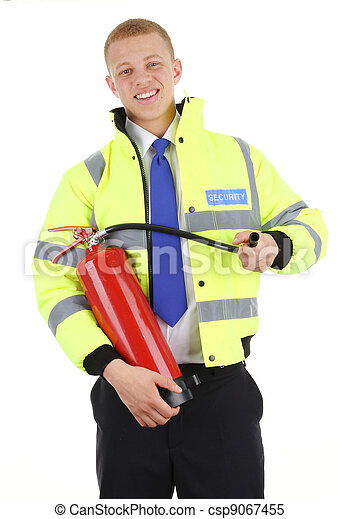 garde sécurité - csp9067455