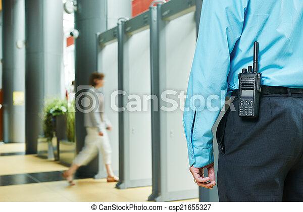 garde sécurité - csp21655327