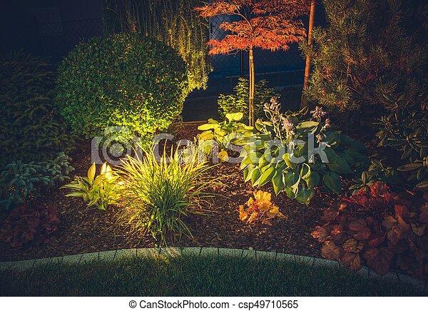 Garden Ambient Lighting - csp49710565