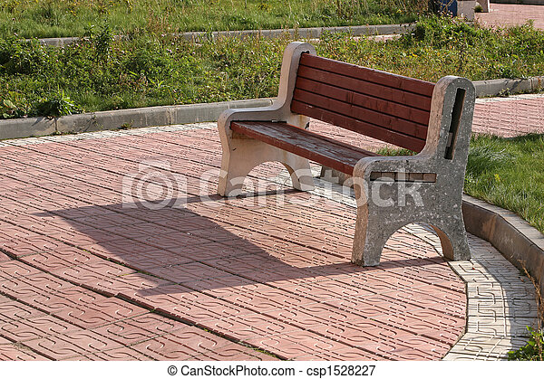 Heavy Duty Counter Stools, Garden Bench Bench And Its Shade On Sidewalk