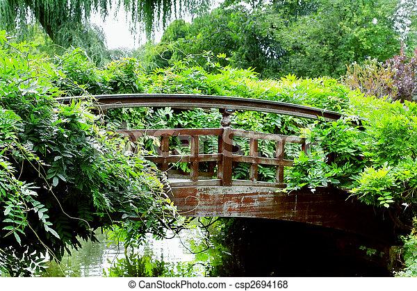 Garden bridge, London - csp2694168