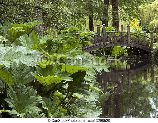 Garden Bridge - csp13298520