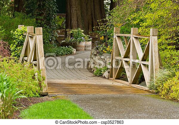 Garden Bridge - csp3527863