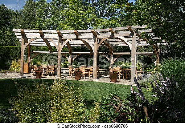 Garden Entertaining - csp0690706