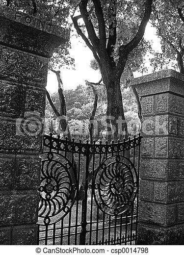 Garden Gate - csp0014798