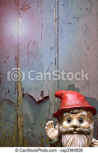 Garden Gnome - csp3364836