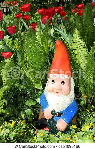 Garden gnome - csp4096166