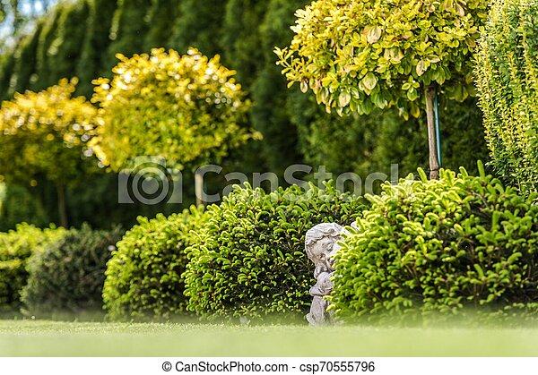 Garden Gypsum Figure - csp70555796