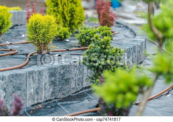 Garden Irrigation System - csp74741817