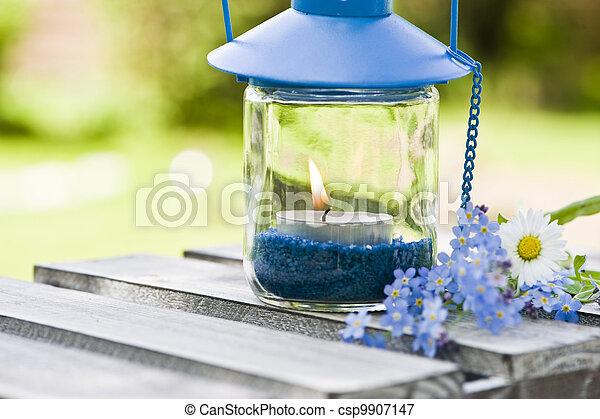 Garden lantern - csp9907147