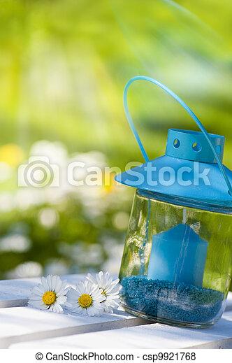 Garden lantern - csp9921768