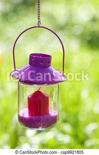 Garden lantern - csp9921805
