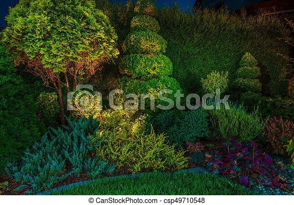 Garden Led Lighting Illumination - csp49710548
