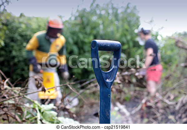 Garden Maintenance - csp21519841
