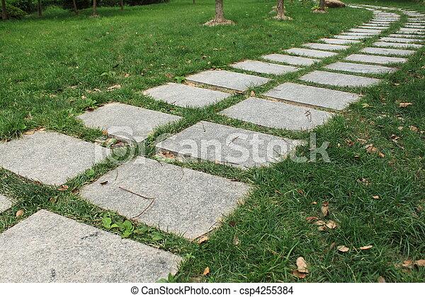 garden path - csp4255384