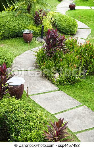 Garden Path - csp4457492
