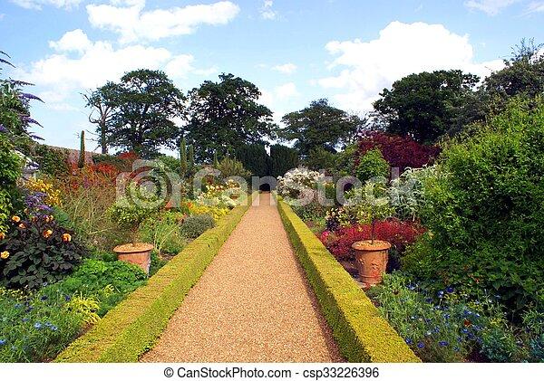 Garden path - csp33226396