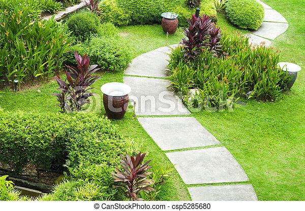 Garden Path - csp5285680